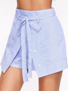 juoe short bleue
