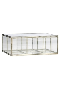 vitrine-verre-a-compartiments-argentee