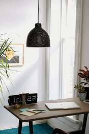 suspension moucheté lampe urban outfitters