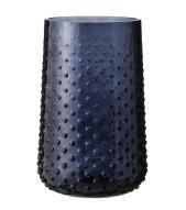 vase rond verre teinté hema
